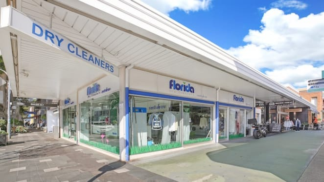 Cross Street, Double Bay drycleaner retail premises hits the market