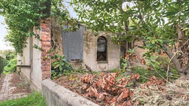 Overgrown Enmore former boarding house for sale