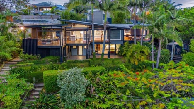 Waterfront Graceville trophy home Echo Point back on the market