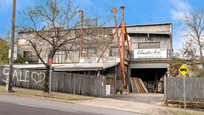 Leichhardt warehouse with residential development potential listed