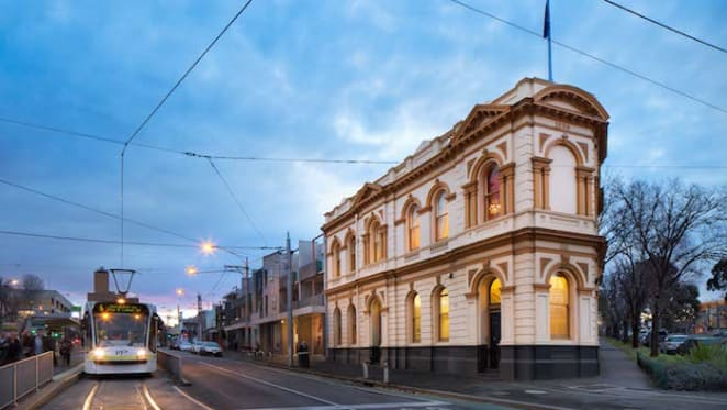 Former bank building in Melbourne's Carlton listed with $2.5 million hopes