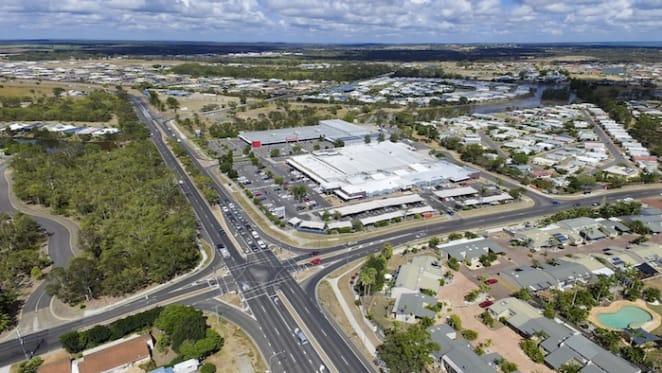 Hervey Bay shopping centre hits the market