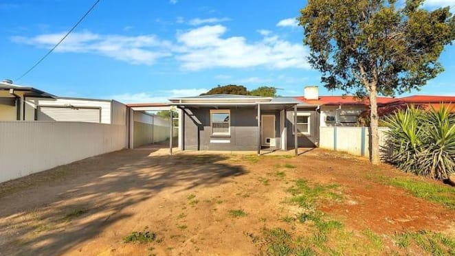 Elizabeth North mortgagee home listed with $110,000 price guide