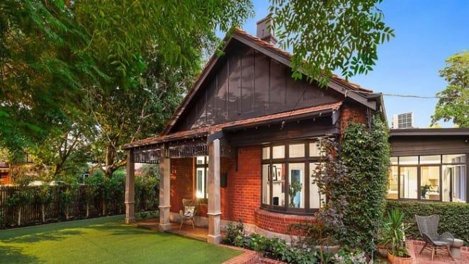Australian actress Asher Keddie and artist husband list in Elwood