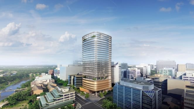 Fender Katsalidis design selected for sculptural commercial tower