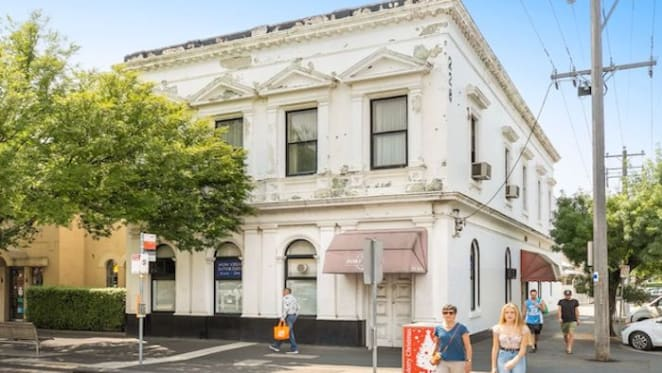 Port Melbourne Building Society's former home listed