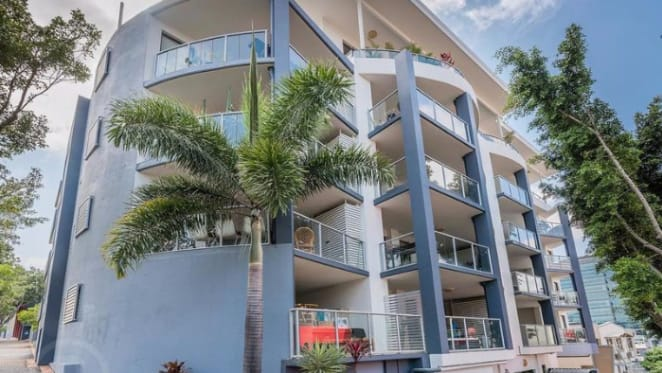 Even the champion Campbell swimmer sisters can't win again the Brisbane apartment tide