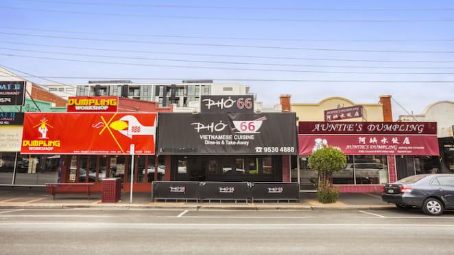 Fierce bidding for Carnegie Vietnamese restaurant