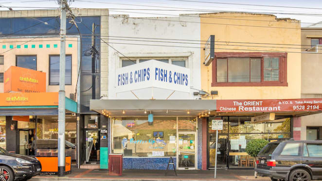 Investor snaps up Caulfield fish and chip shop pre-auction