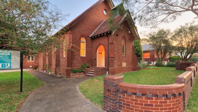 1920s church and house in Cronulla listed for sale