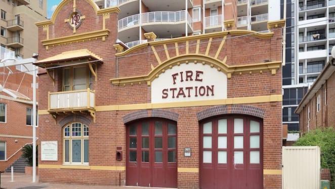 Old fire station building in Sydney's Hurstville listed