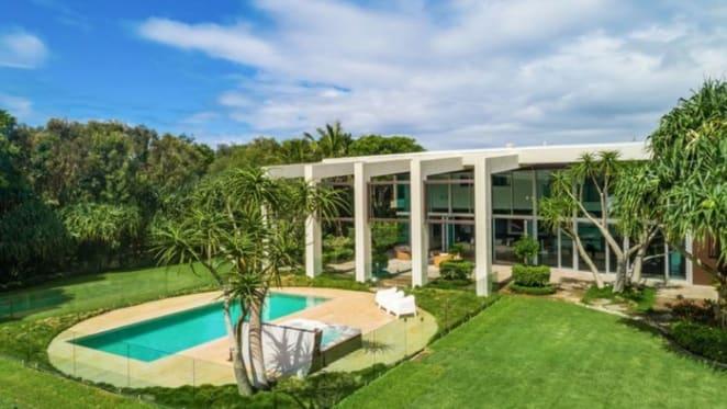 Paul Ullmann-designed Casuarina mansion, Five Harper listed