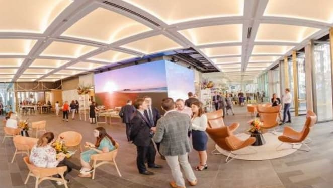 State of the art foyer brings Brisbane outdoors in