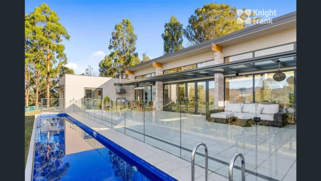 Award-winning Tasmania home Amaroo for sale