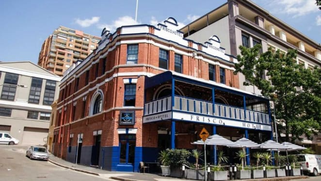 Woolloomooloo's Frisco hotel on the market two years after makeover