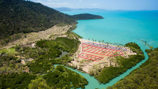 A chance to grab waterfront allotments in Whitsundays