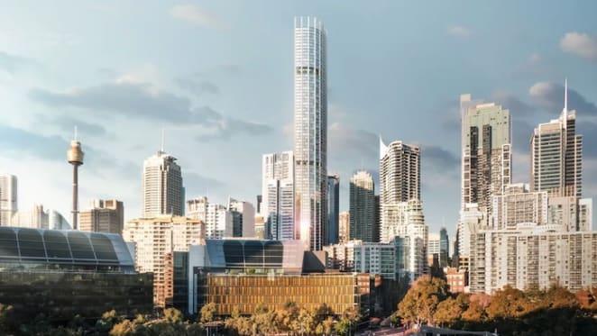 270 metre tall Event Cinema, George Street tower needs Aeronautical Impact approval