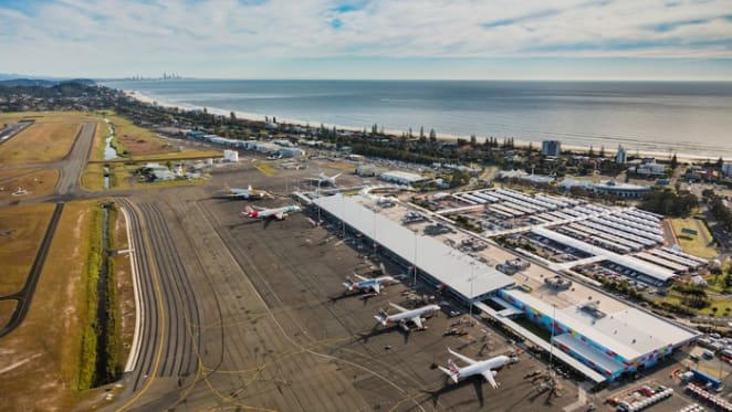 Foundations laid for new hotel at Gold Coast airport