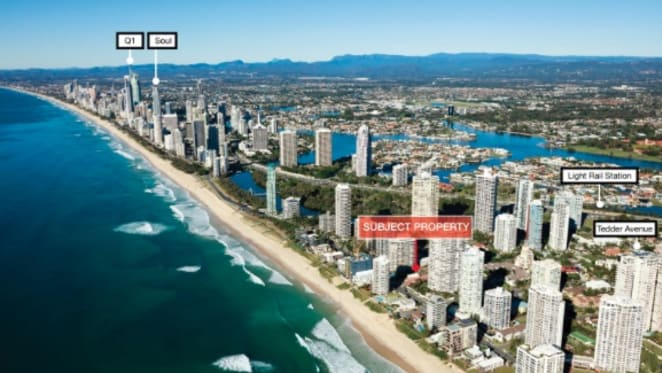 Beachside site with approval for apartments in the Gold Coast listed through Savills