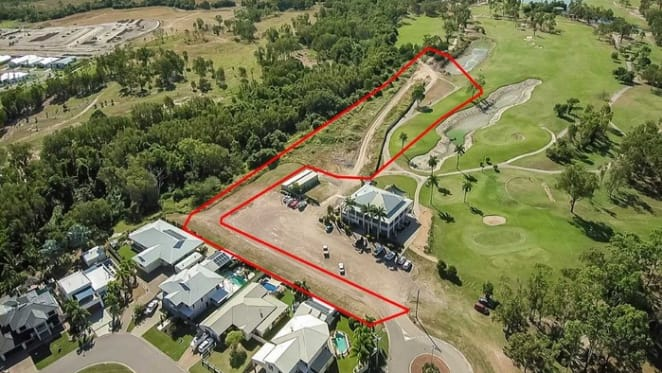 Development site fronting golf course up for sale in Townsville