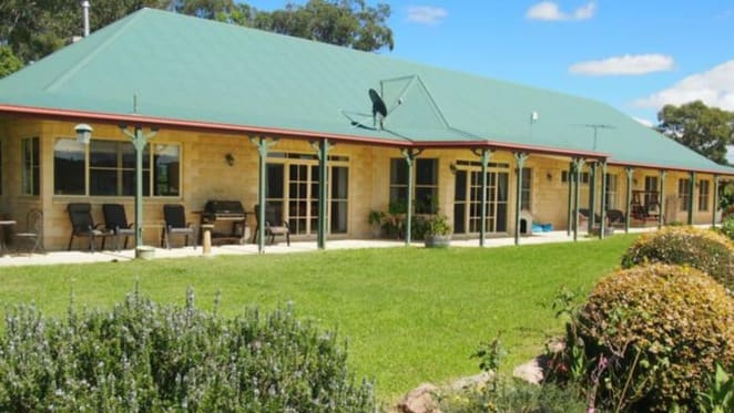The Granite Belt vineyard listed by wine producer Robert Channon