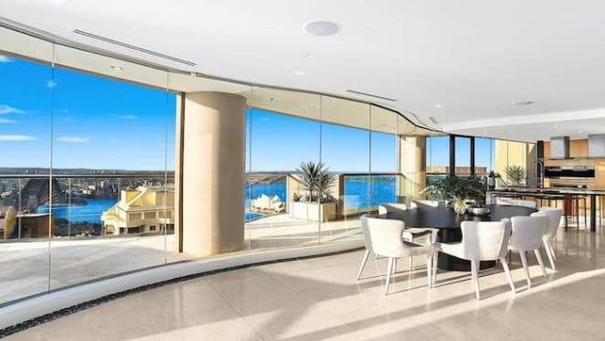 Cove, Sydney penthouse listed for sale