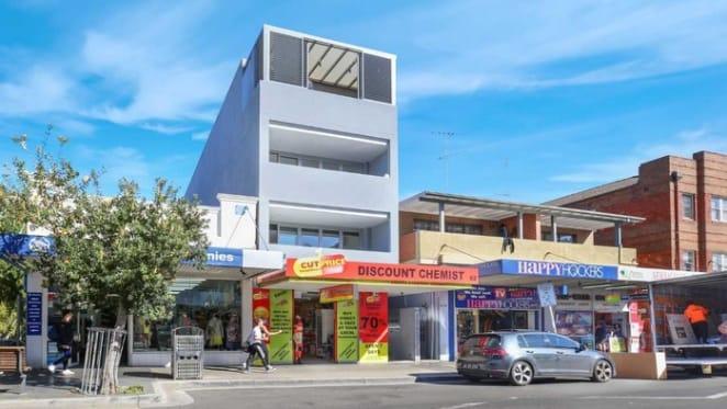 Bondi Beach retail asset passed in at auction