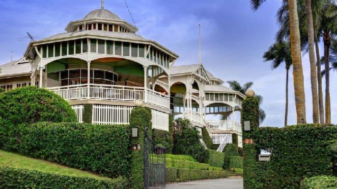 Hamilton Hill's 1905 Queenslander, Cremorne listing