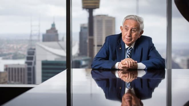 Harry Triguboff says his lending has come to a halt