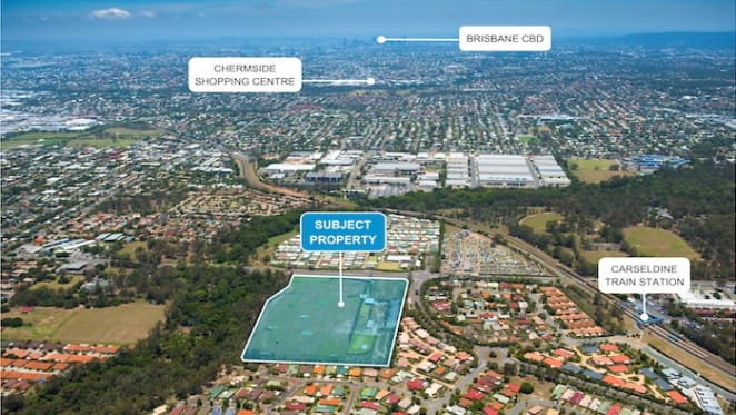Infill site in north Brisbane with development potential listed