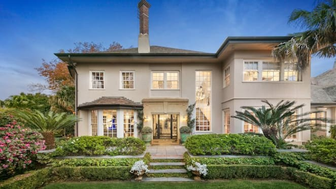 Toorak trophy home Palmilla listed by former ad boss with near $30 million hopes