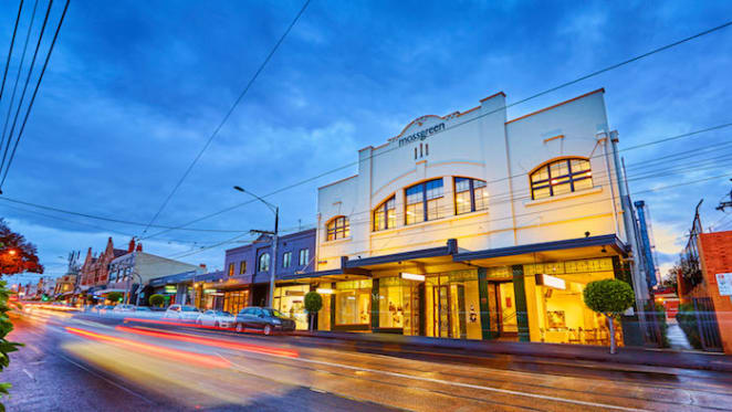 Auction house Mossgreen's headquarters in Melbourne listed