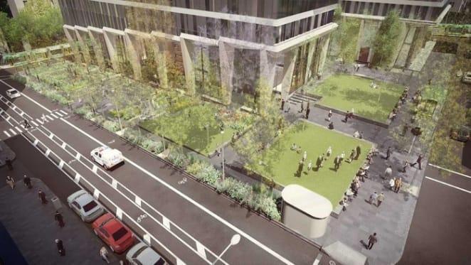 Collins Arch garden plans revealed for Market Street