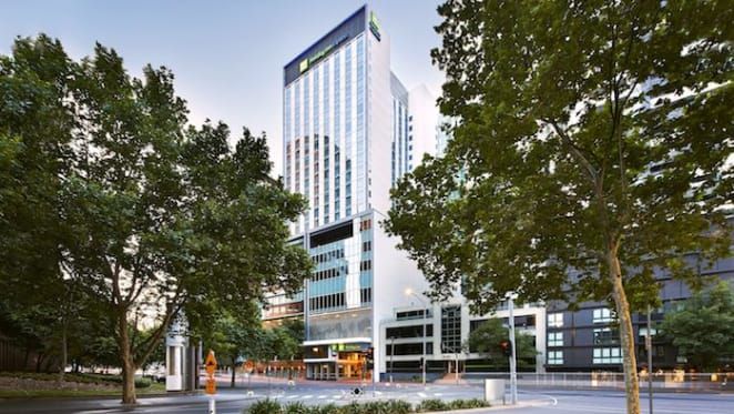 Holiday Inn Express Melbourne Southbank is Australia's first 5 star NABERS energy rated hotel