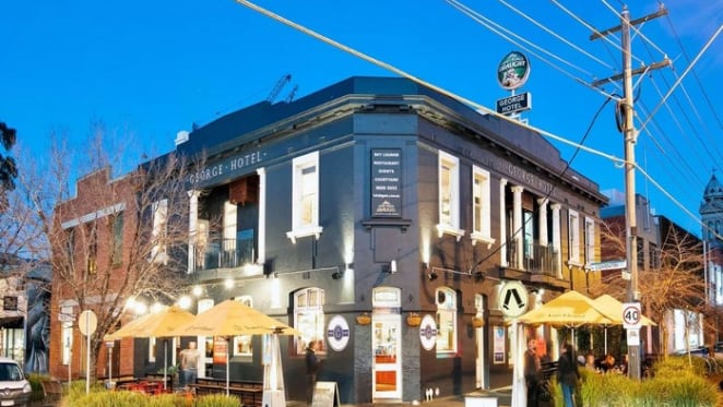 The George Hotel in South Melbourne sells to Chinese investor