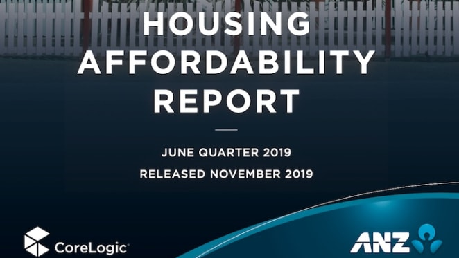 Housing affordability peaked in June, prices could reach record highs again in 2020: ANZ CoreLogic
