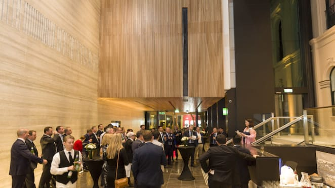 Investa unveils major foyer makeover at its Brisbane Queen Street building