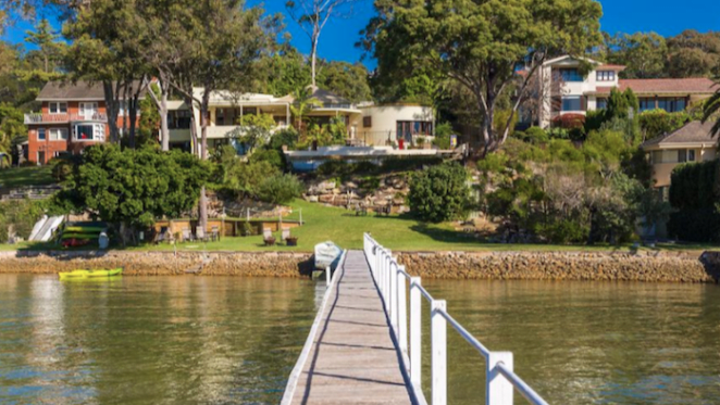 INXS member's former waterfront home in Cottage Point listed