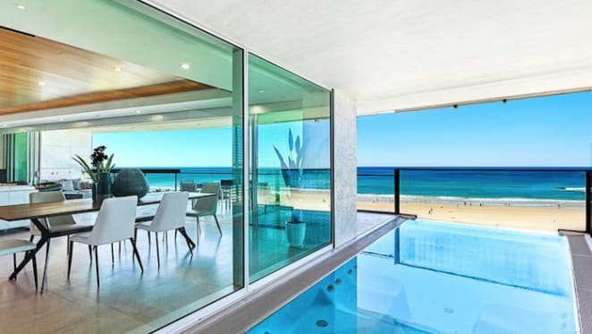 Whole floor Jade, Surfers Paradise apartment offering