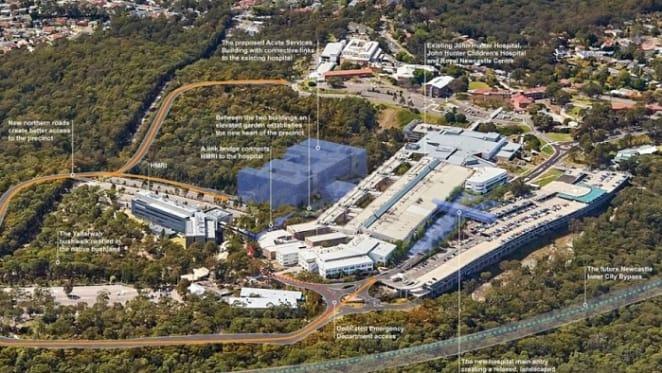 $780 million John Hunter hospital plans revealed amid continuing Newcastle construction