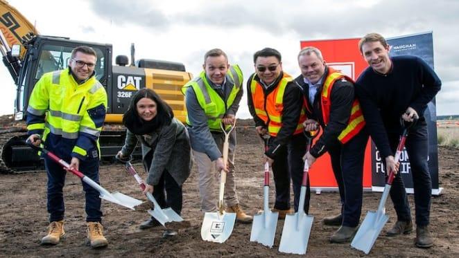 Vaughan Constructions to build Australia's largest distribution centre for German supermarket giant Kaufland