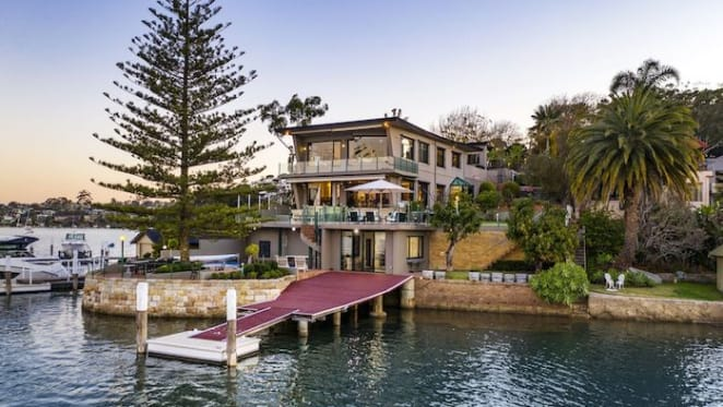 Waterfront Kangaroo Point trophy home with boat shed listed