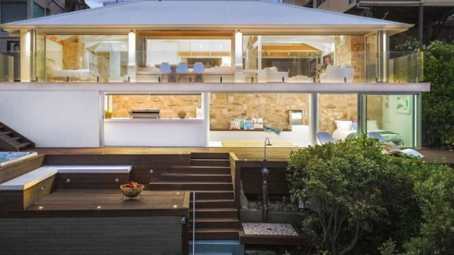 Beachfront Forresters Beach retreat for sale