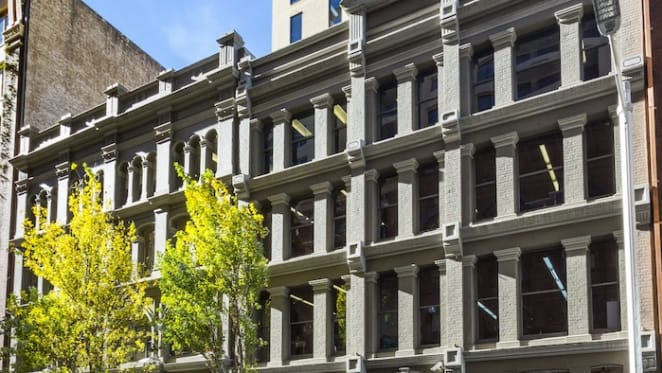 Heritage listed office building in Sydney CBD listed: Savills