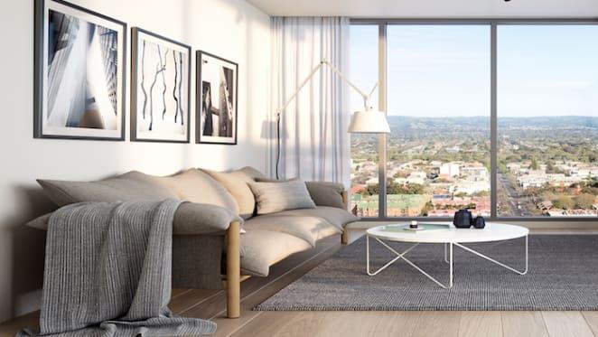 Kodo releases Adelaide's highest loft apartments