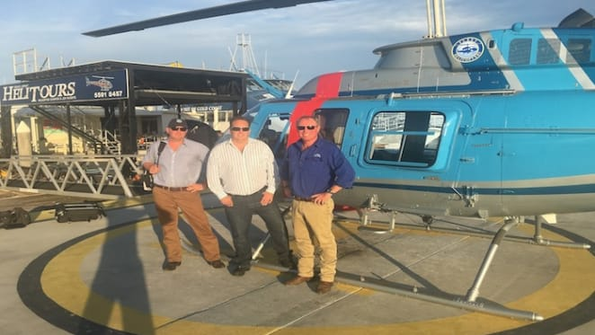 Raine & Horne Rural Sydney finalises joint venture with Fleet Helicopters