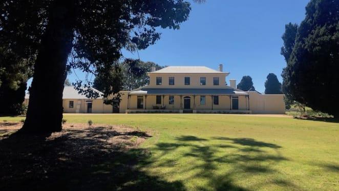 Lady Mary Fairfax's historic Harrington Park Homestead near Camden listed