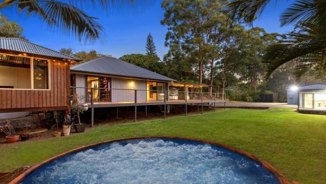The Veronica's list renovated Queensland getaway