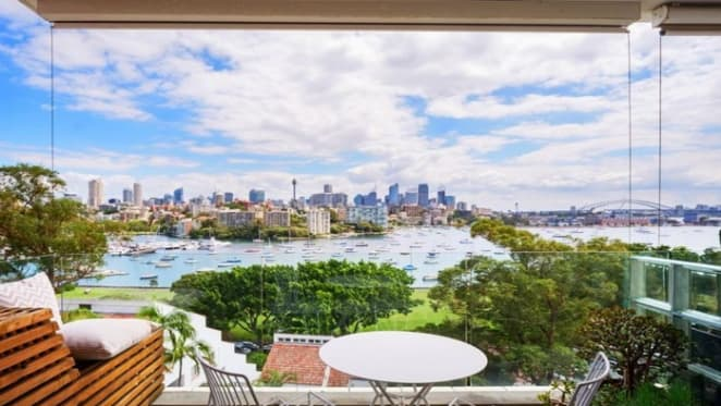 Lara Bingle's former Blainey North-designed Darling Point apartment listed again