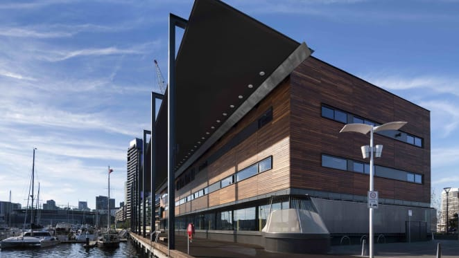 Melbourne's Library at The Dock wins at Property Council Victorian awards
